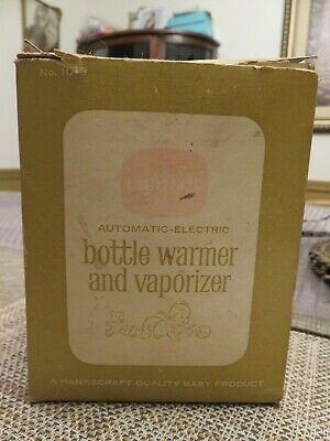 Vintage CRIB SET AUTOMATIC-ELECTRIC BABY BOTTLE WARMER AND VAPORIZER
