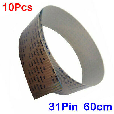 10 x for Chinese DX5 Printhead ECO Solvent Inkjet Printers 31Pin Data Cable 60cm