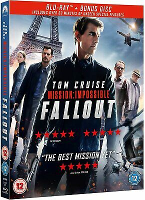 Mission: Impossible - Fallout + Bonus Disc (Blu-Ray)