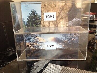 Toms Shoes Branded Blocks X2