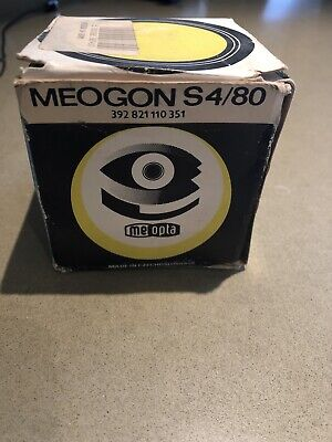 Meogon S4/80 Enlarger Lens