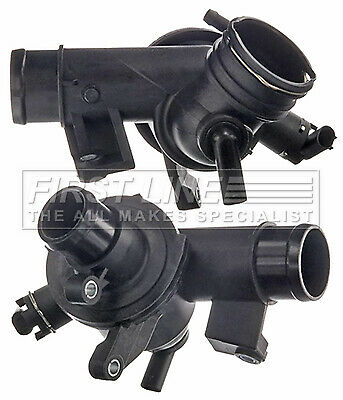 MERCEDES E220 2.2D Coolant Thermostat 09 to 16 Firstline 6512000615 6512001215