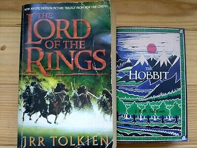 J RR Tolkien Lord Of The Rings Trilogy And The Hobbit