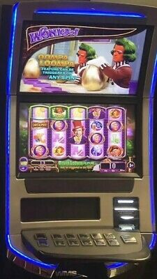Williams Bluebird 3 Blade Willy Wonka Chocolate Factory Slot Machine Wms Bb3