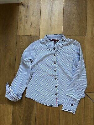 MUST SEE! girls MARITHE FRANCOIS GIRBAUD MFG blouse 5-6yr - MINT! RRP£85