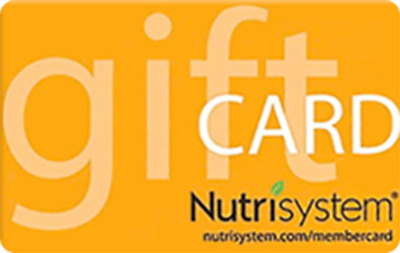 Nutrisystem Gift Card / Voucher ~ PARTIAL $68.26 ~ Online/Phone Use~ Email Deliv