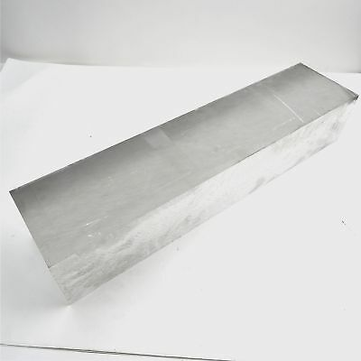"4"" thick 6061 Aluminum PLATE  4.875"" x 21"" Long Solid Flat Stock sku 137511*"