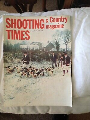 Shooting Times and Country Magazine  January 1977