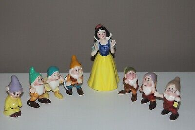 Ceramic Disney Malaysia Snow White and the Seven Dwarf Collection from the 90's