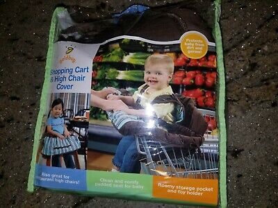 Goldbug 2-In-1 Shopping Cart Cover & High Chair Cover