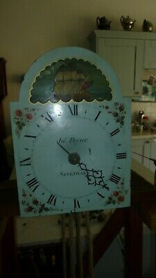 CLOCK 30 HOUR SINGLE HAND  spiked wall clock JOHN PAYNE OF SEVENOAKS
