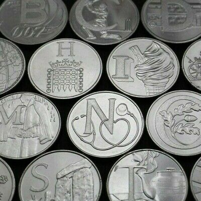2019 A-Z Alphabet 10p Coin Hunt NEW Uncirculated Coins - Choose Your Letter