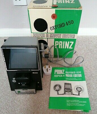 Lovely Vintage OXFORD 450 Super 8  PRINZ MOVIE EDITOR - Boxed with Instructions