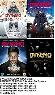 Dynamo - Magician Impossible: Series 1-4 (DVD)