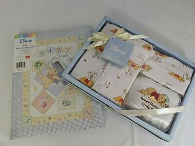 Vintage Winnie The Pooh Memory Book And Gift Set New in Box