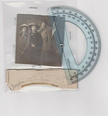 """Four Netherlands """"Named"""" Ladies Probably Related Small Photograph c1900/10"""