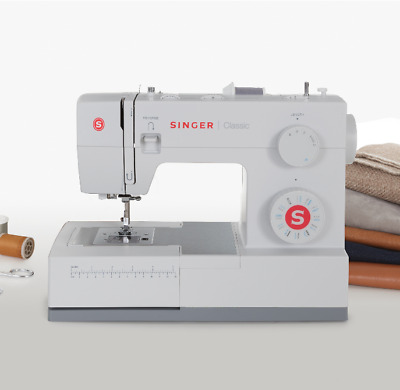 SINGER Classic 44S - Heavy Duty 23-Stitch Sewing Machine [Ships Same-Day]