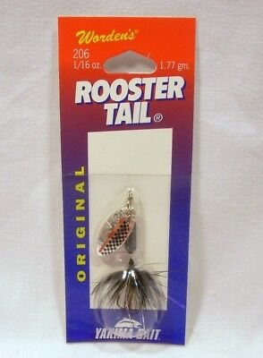 Wordens Yakima Bait 1/16 oz Tinsel Leech Rooster Tail Fishing Spinning Lure
