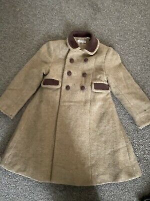 Marie Chantal Coat Girls Boys Classic Style Age 4 Years