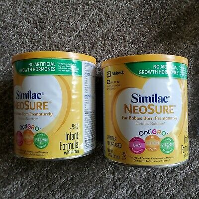 neosure similac. 2 cans