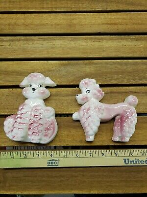 Pink Poodle Ceramic Wall Decor