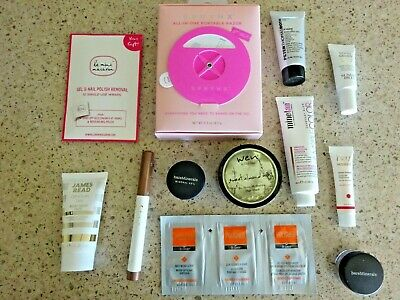 14 lot Wen Peter Thomas Roth Belle Beauty Bare Minerals Veil & Eye Shadow QVC
