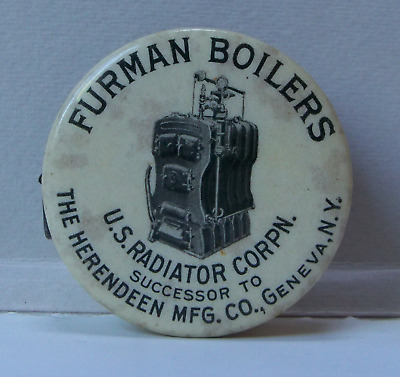 Furman Boilers cloth tape measure - Herendeen - Geneva, NY