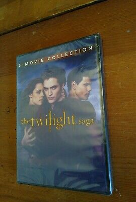 The Twilight Saga  5 Movie Collection  Factory Sealed See Actual Photos