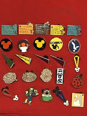 25 Disney pins Assorted Trading G  As Seen Lot x