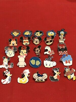 25 Disney pins Assorted Trading H  As Seen Lot x