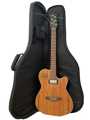 Godin A6 Ultra Acoustic-Electric Guitar in Excellent Condition w/gig bag + strap