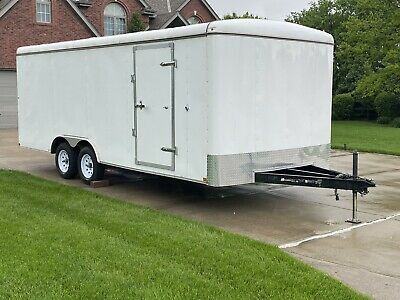 2018 Carry On Enclosed Trailer 8.5x20 Car Cargo