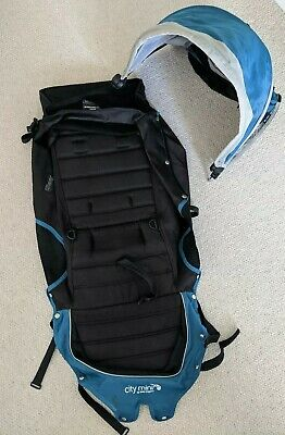 Baby Jogger Seat Fabric, Hood&Rods for City Mini New Logo. 2015. Teal