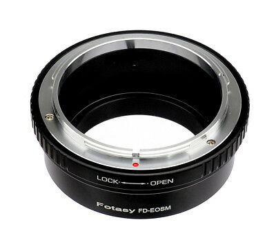 Canon FD Lens to CANON EOS M EF-M MIRRORLESS Camera M5 M6 M50 M100 Adapter