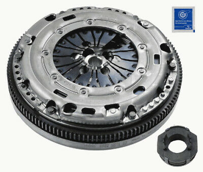 SEAT LEON 1P1 1.9D Dual Mass Flywheel DMF Kit with Clutch 05 to 09 5 Speed MTM