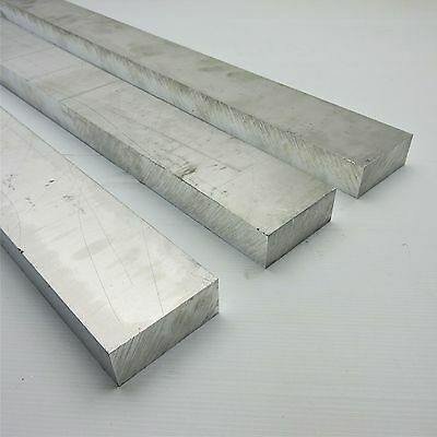 ".875"" thick 6061 Aluminum PLATE  2.875"" x 26.5"" Long QTY 3 Flat Stock sku140945"