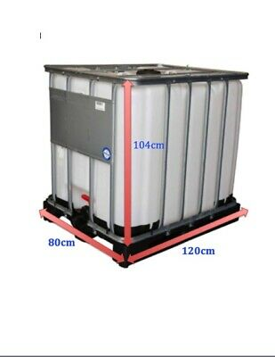 IBC 600 litre Water Storage Container Tank (Ex Food Grade)