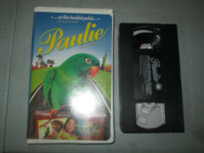 Paulie (VHS)(French)  Tested Clamshell
