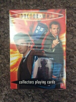 Doctor Who Collectors Playing Card Set