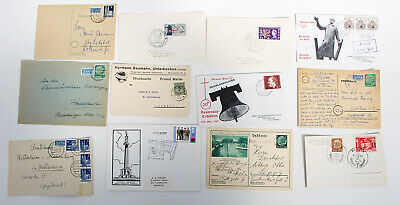 Germany. Selection of covers. Various era's.
