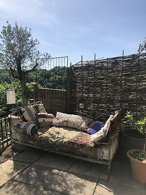French Antique Metal Day Bed