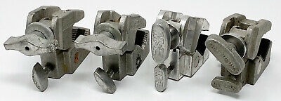 Lot 4 Manfrotto Mathews Super Mafer Clamps