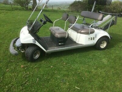 used Golf buggy Utility vehicle. easy access, simple to drive