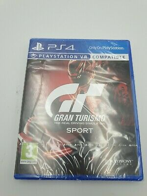 Gran Turismo Sport PS4 (GT Sport) VR Compatible - New and Sealed