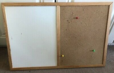 Whiteboard and Cork Board Combo. Size 60cm*40cm