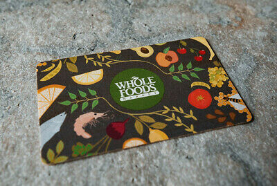 $300 Whole Foods gift card