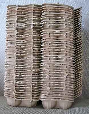 40 x Used Cardboard Egg Boxes for Six Chicken Eggs. Reuse, Crafts or Gardening