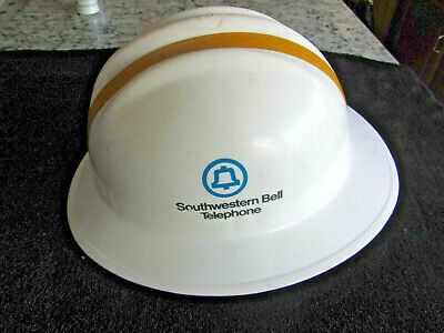 Vintage Southwestern Bell Telephone Systems Hard Hat Model 303 Class A & B 1986