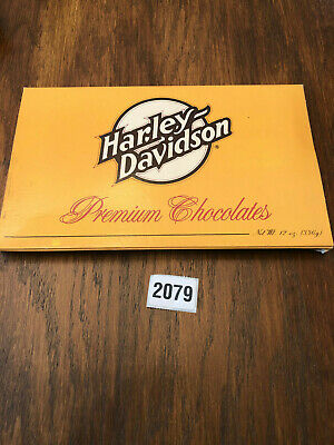 Vintage Harley Davidson  Chocolates ( sold as collectible only)