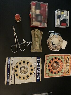 Lot of Vintage Sewing Notions Supplies
